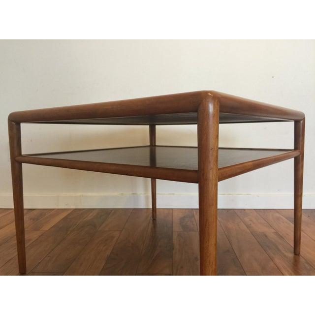 T.H. Robsjohn-Gibbings for Widdicomb Square Table For Sale - Image 5 of 10