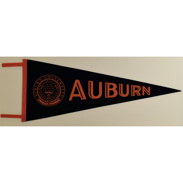 1960s Americana Auburn University Pennant - Large | Chairish
