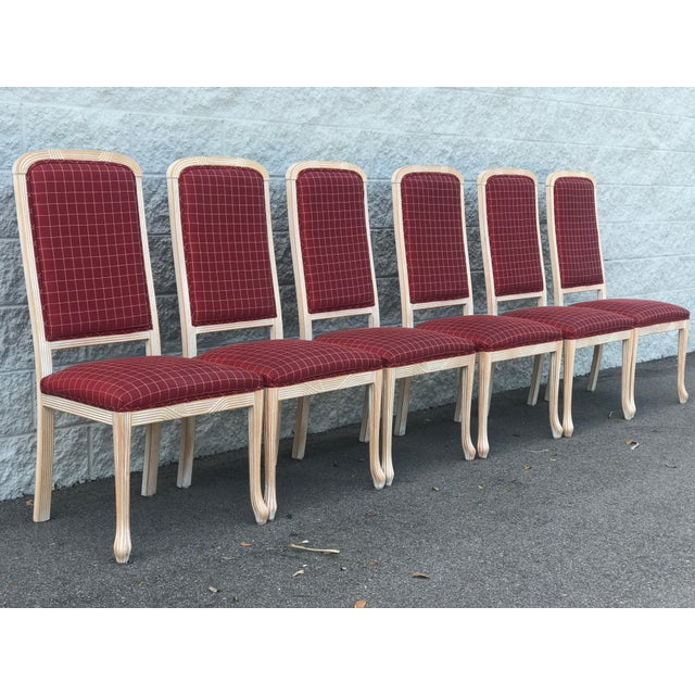 Dining chairs from Comidi & Modonutti, which is based in Italy. Chairs are the S802 design with sculpted front legs,...