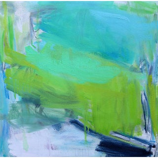 """""""After the Downpour"""" by Trixie Pitts Abstract Expressionist Oil Painting For Sale"""
