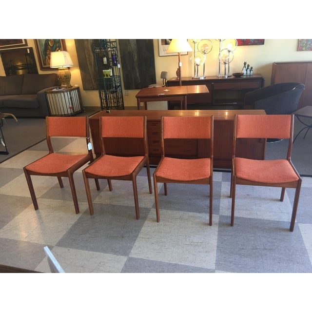 Mid-Century Teak Dining Chairs - Set of 4 - Image 2 of 8
