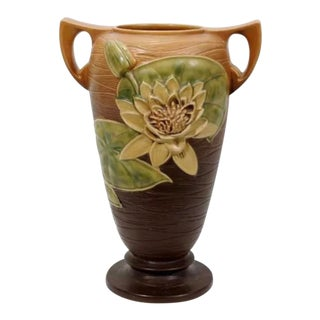 Roseville Water Lily Vase For Sale
