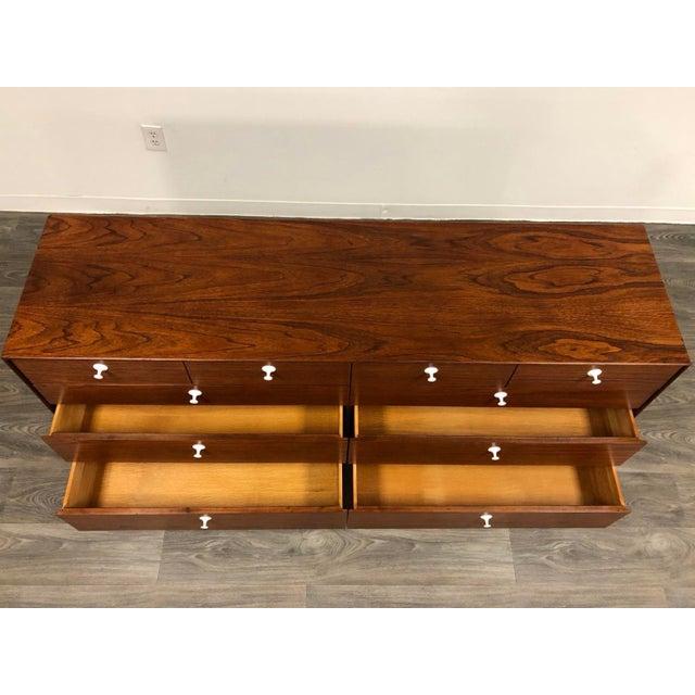 George Nelson for Herman Miller Thin Edge Teak Dresser For Sale - Image 11 of 12
