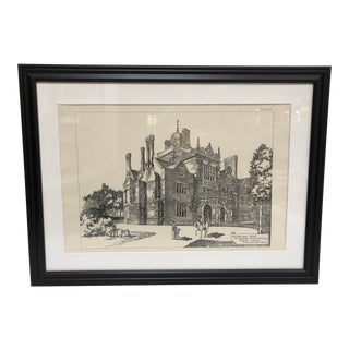 1893 Hurstbourne Hants Estate Architecture Drawing