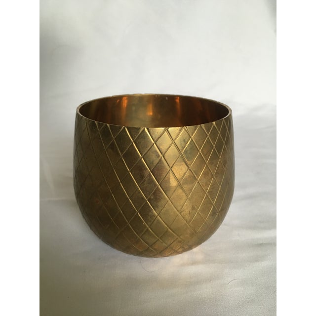 Early 21st Century Modern Brass Candle Votive For Sale - Image 5 of 5