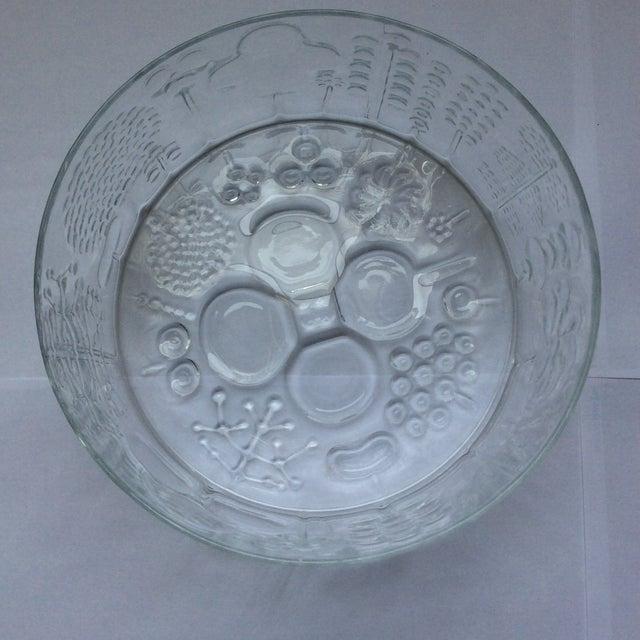 Iittala Vintage Iittala Oiva Toikka Flora Bowl For Sale - Image 4 of 6