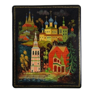 Hand Painted Russian Lacquer Box