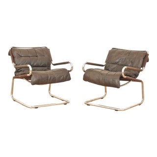 1960s Vintage Sigurd Ressell Lounge Chairs - a Pair For Sale