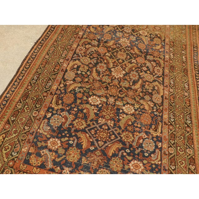 1900 Antique Persian Fereghan Rug For Sale In Los Angeles - Image 6 of 13