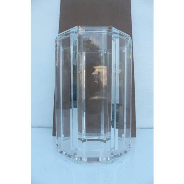 Vintage Lucite Side Table - Image 3 of 10