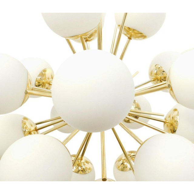 Diciotto Sputnik Chandelier by Fabio Ltd For Sale In Palm Springs - Image 6 of 9