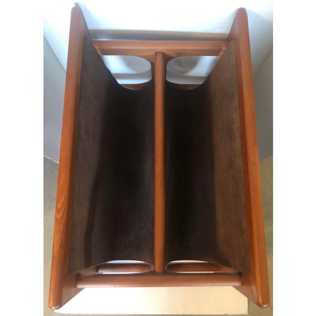 Large Salin Mobler Magazine Rack For Sale In Miami - Image 6 of 7