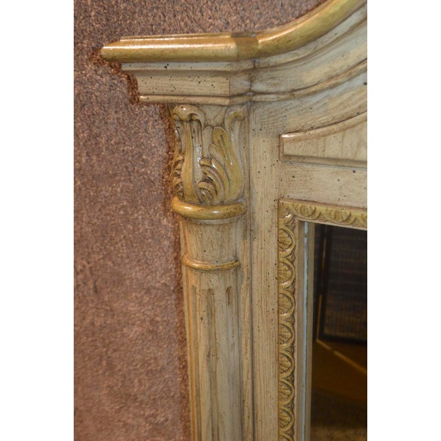 Cellini Furniture Neo-Classic Style Italian Wall Mirror For Sale - Image 10 of 13