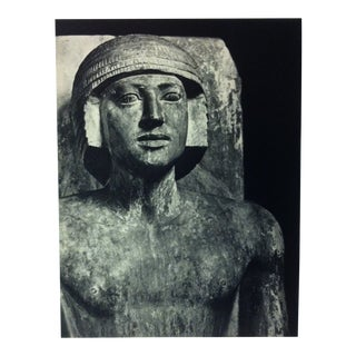 """Circa 1970 """"Ti"""" Vth Dynasty Great Sculpture of Ancient Egypt Print For Sale"""
