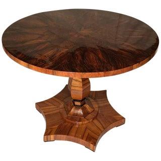 Vienna 1820 Biedermeier Walnut Table