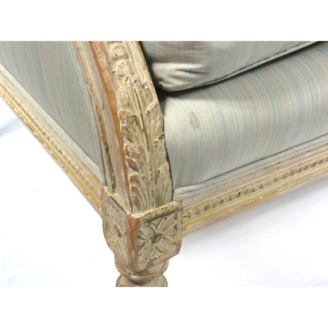 Settee in French Louis XVI Style - Image 6 of 10