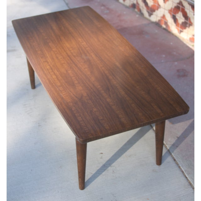 Contemporary Mid Century Baumritter Coffee/End Table For Sale - Image 3 of 5