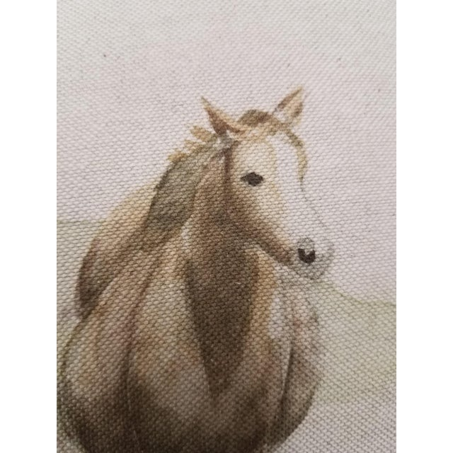 Horse Bolster Pillow For Sale In Dallas - Image 6 of 9