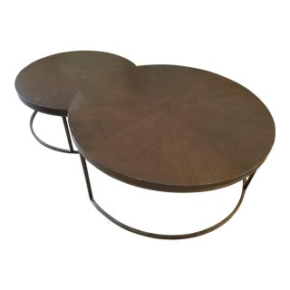 "Mitchell Gold + Bob Williams ""Bassey"" Nesting Coffee Tables"