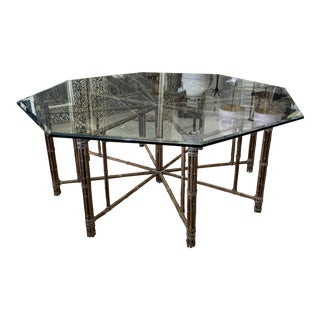 Vintage McGuire Dining Table For Sale