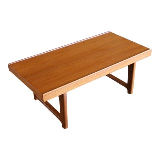 "Torbjørn Afdal for Bruksbo Teak ""Krobo"" Bench For Sale"