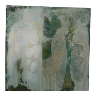 """Original Abstract Painting on Canvas """"Verde II"""""""