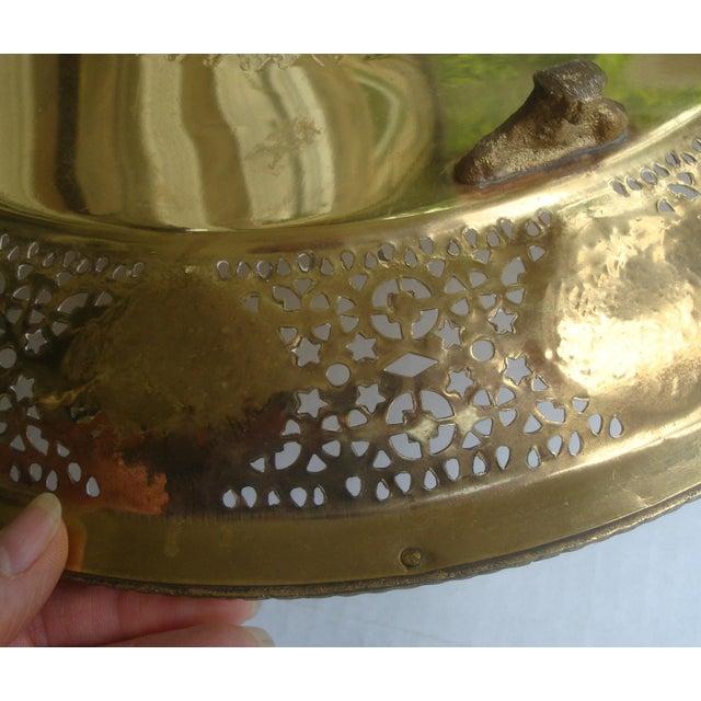 Brass Pierced Brass Tray Chinese Zodiac Animals For Sale - Image 8 of 10