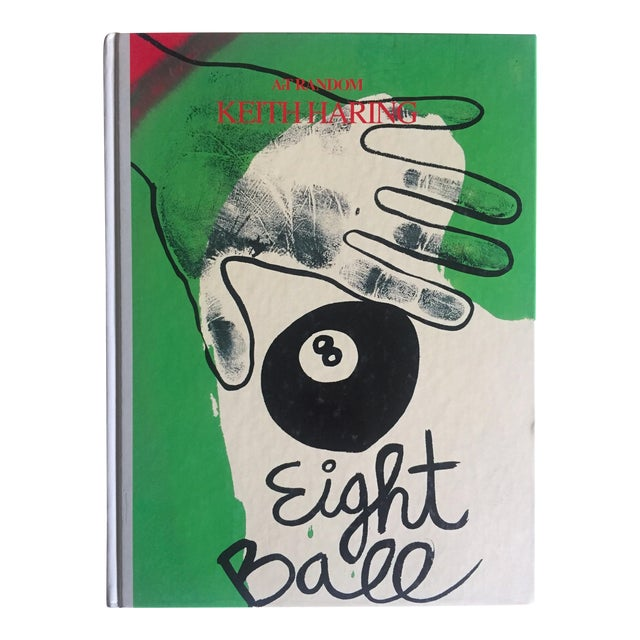"Keith Haring ""Eight Ball"" 1989 Rare 1st Edition Japanese Hardcover Collector Art Book For Sale"