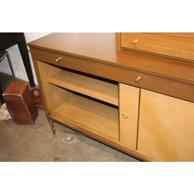 Paul McCobb Paul McCobb for Calvin Credenza Sideboard With Bar Top For Sale - Image 4 of 11