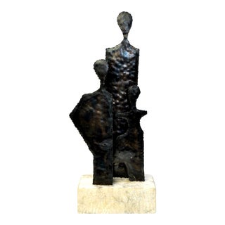 Brutalist Sculpture by Marcello Fantoni for Raymor For Sale