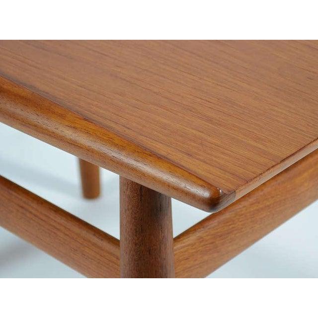 Tan Teak Side/ End Table by Greta Jalk For Sale - Image 8 of 8
