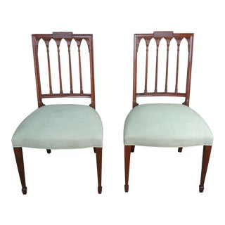 Baker Furniture Historic Charleston Russell Dining Chairs- A Pair For Sale