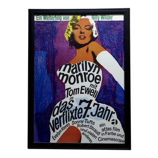 Billy Wilder Marilyn Monroe Poster - 1955 For Sale