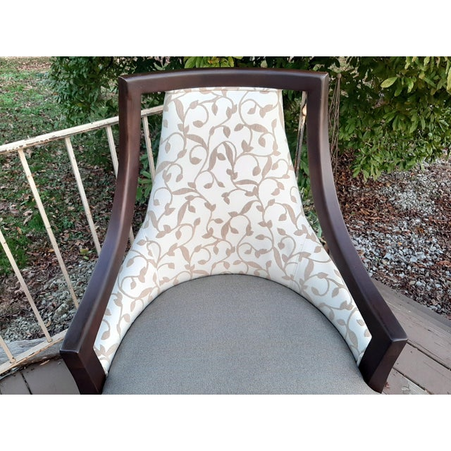 White Fairfield Caldwell Occasional Chair For Sale - Image 8 of 13