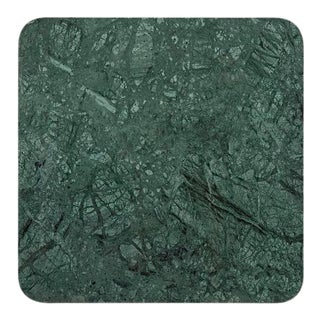 Tom Dixon Green Marble Square 650mm Table Top For Sale