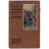 Image of Fifty Water-Colour Drawings of Oxford by Edward C. Alden For Sale