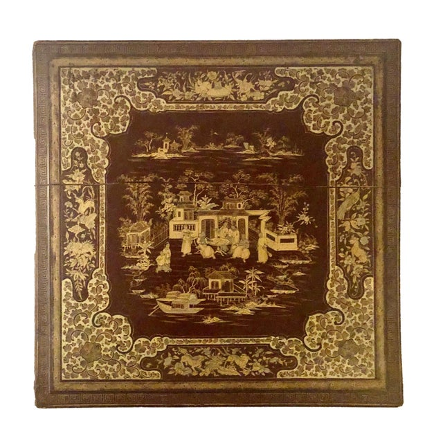 Wood Early 19th Century Chinese Export Box For Sale - Image 7 of 8