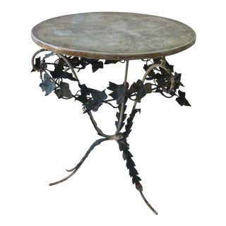 Italian Iron Leafy Table