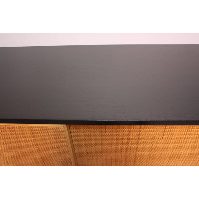 Early Florence Knoll Ebonized Credenza - Image 6 of 10