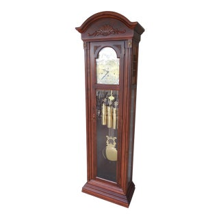 Seth Thomas Grandfather Floor Clock For Sale