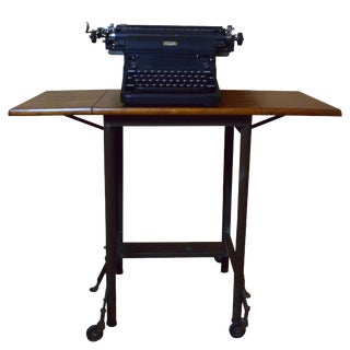 Vintage Royal Typewriter With Table For Sale