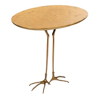 Mid 20th Century Traccia' Table by Meret Oppenheim For Sale