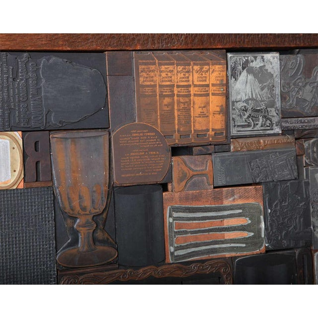 Multi Dimensional Wall Sculpture For Sale - Image 4 of 10