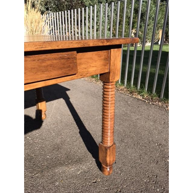 Rose Tarlow Tuscany Table/Desk For Sale In Denver - Image 6 of 7