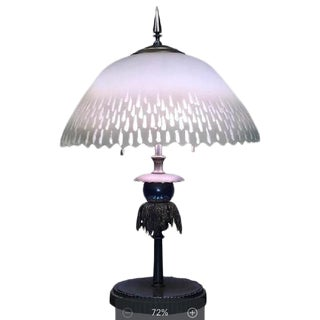 BEAUTIFUL FRENCH ART DECO LAMP For Sale