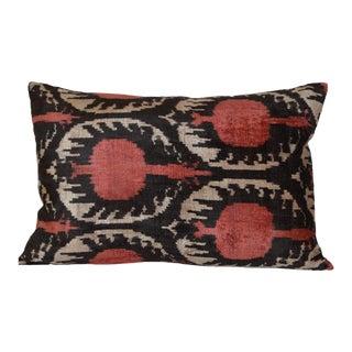 Ikat Silk Velvet Ceci Pillow