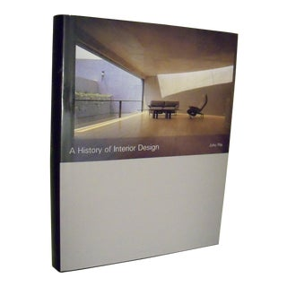 A History of Interior Design by John Pile, 2000 Hardcover Edition For Sale
