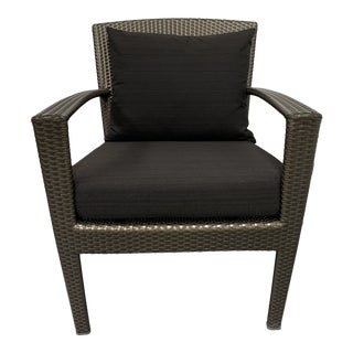 Janis Et Cie Dedon Outdoor Panama Armchair + Cushions For Sale