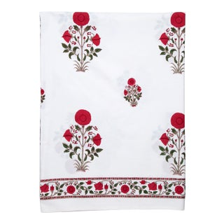 Amaya Flat Sheet, Twin - Red For Sale