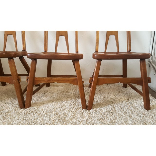 Sikes Furniture Chairs From 1939 - Set of 4 - Image 8 of 10